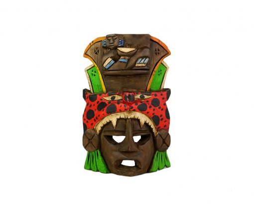 Mexikanische Holzmaske