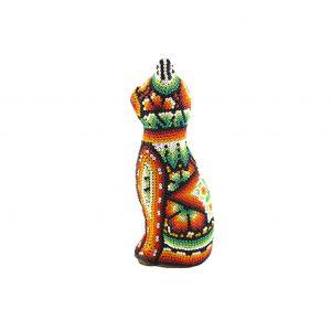Huichol Figur Katze