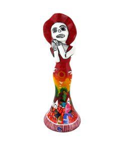 Catrina-Keramik-Handbemalt- Mexiko-Tag der Toten