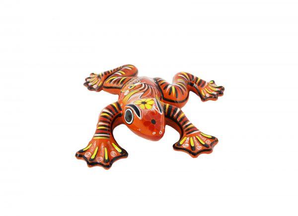 Frosch aus Keramik