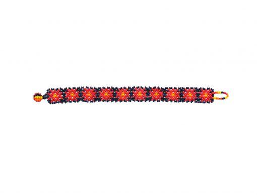 Mexikanische armbänder - Huichol Kunst