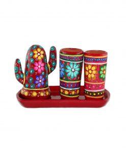 Keramik-Set Tequila Kaktus