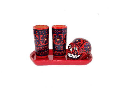 Tequila Set Totenkopf