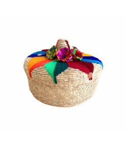 Mexikanische Tortillakorb