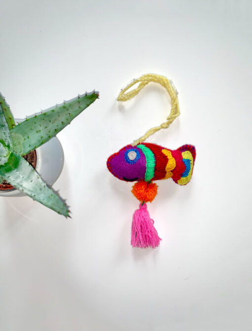 Fish aus Wolle - Mexiko - Accesoires - Deko