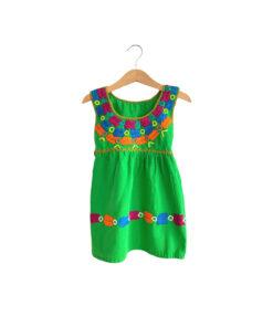 Mexikanisches Mädchen-Kleid