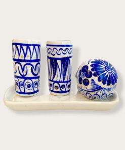 Keramik-Set Tequila Totenkopf
